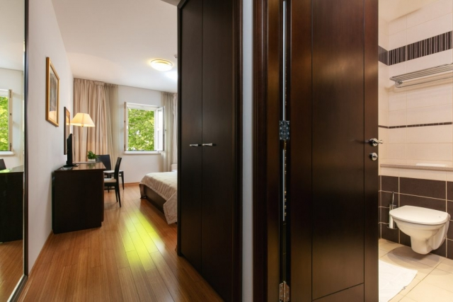 Comfort room entrance|Hotel Croatia
